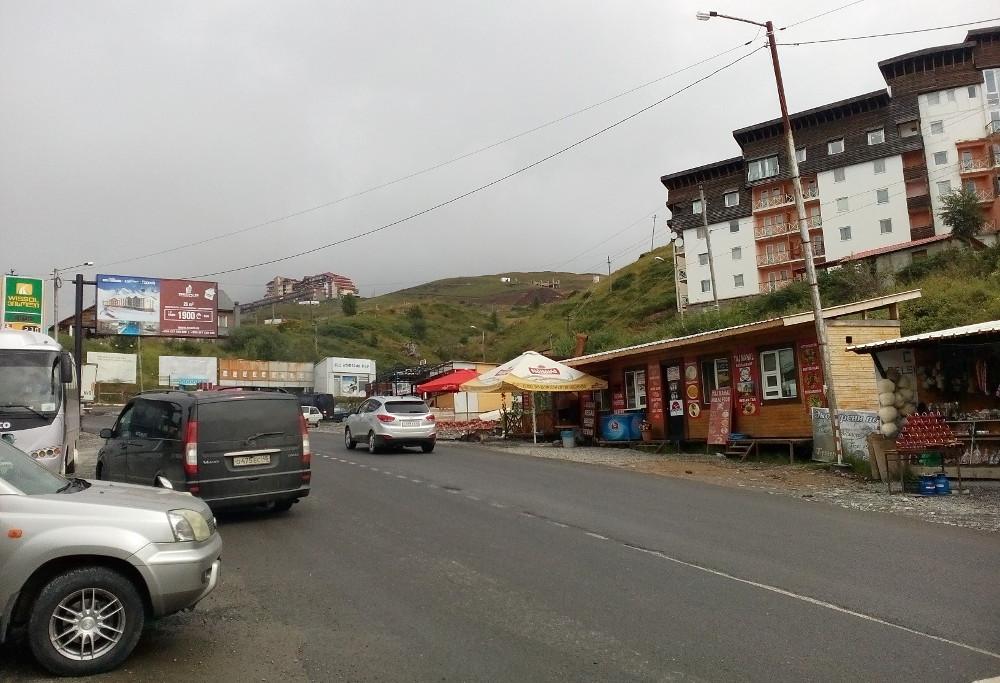 Военно-грузинская дорога, сентябрь 2017