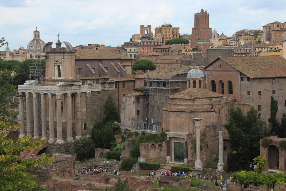 Рим, август 2014