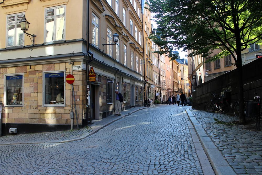 Стокгольм, сентябрь 2014